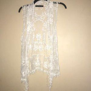 Zara Crochet Vest